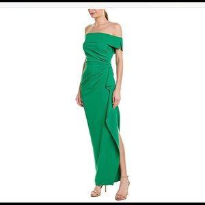 Vince Camuto long green dress